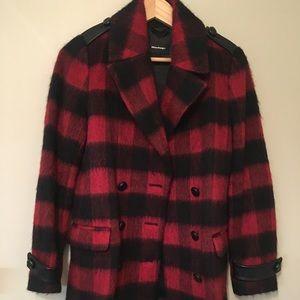 NWOT Mackage Red plaid jacket